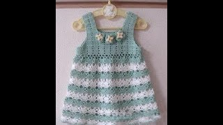 Crochet Patterns| for |crochet baby dress| 2780
