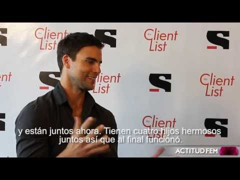 Entrevista con Collin Egglesfield, actor en The Client List