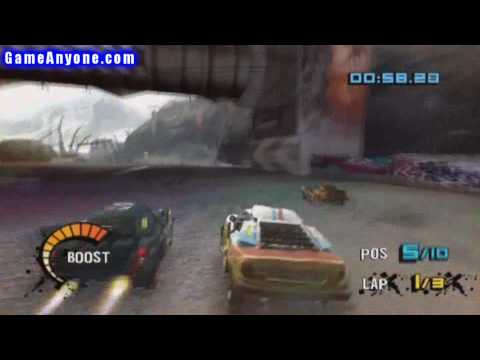 Motorstorm: Arctic Edge - PS2 - 53 - Shift N' Drift Race 2 out of 3 Video