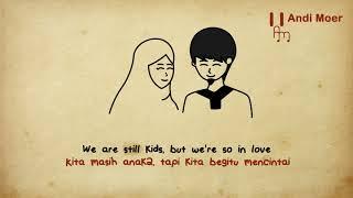 Ed Sheeran - Perfect -  Lyrics Animation Terjemahan Indonesia