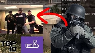 Top 10 Police Raids During Twitch Streams