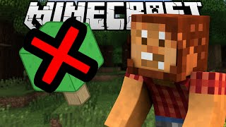 If Trees were Removed - Minecraft