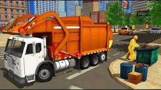 City Cleaner Garbage Truck #Truck Driving Games | Android GamePlays #Kids Game