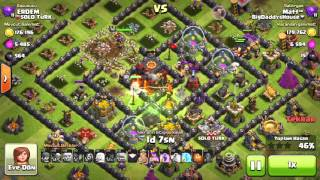 Clash of Clans professional attack