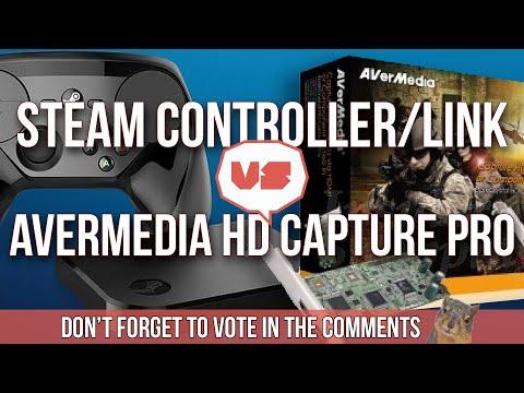 FACE OFF - Steam Controller & Link VS AVerMedia HD Capture
