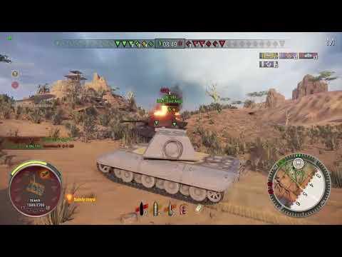 World of Tanks  Xbox One  E100  6.400dmg