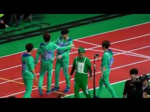 [FANCAM][HD]20130128 EXO Idol sport olympic Speedwalking