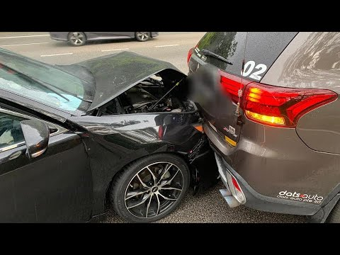 24nov2019 pie road works. Mitsubishi cam car rear ended by lexus #skp7044M whom failed to stop .