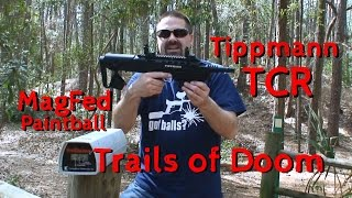 Tippmann TCR Paintball Marker by Trails of Doom Demo Video