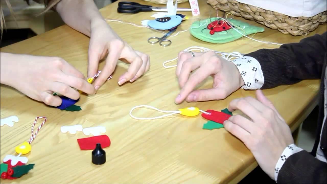 Изготовление новогодней игрушки своими руками 2 класс