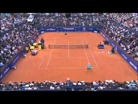 2015 ATP Barcelona Open Final Highlights - Kei Nishikori v Pablo Andujar
