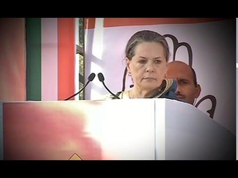 Sonia Gandhi takes on BJP, PM Modi