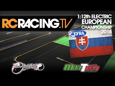 EFRA 1/12th Track Euros 2016 - Saturday Qualifying