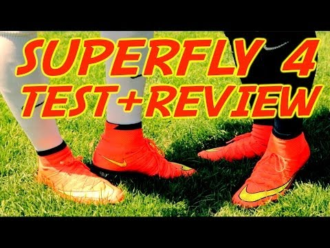 Nike Mercurial Superfly 4 TEST + Review   NEW Cristiano Ronaldo Boots 2014   by 10BRA