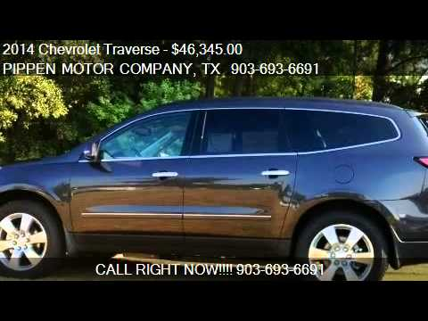 2014 Chevrolet Traverse LTZ - for sale in Carthage, TX 75633