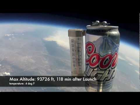 First Coors Light in Space! Testing the