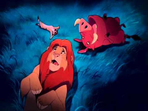 Simba, Timão e Pumba - as estrelas - YouTube