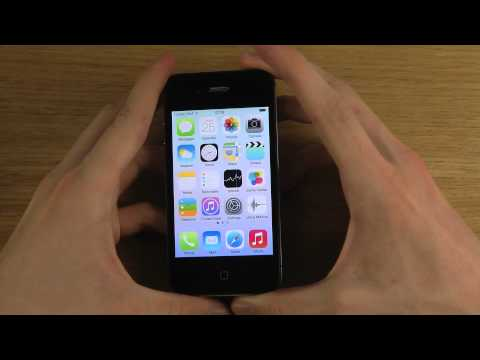 iPhone 4S - NEW iOS 7 Beta 2 Review
