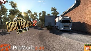 ETS 2 // PC // MULTIPLAYER // 16 /05 /2019 CON VOLANTE G-27