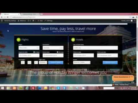 Installation Wordpress Flights Hotels Price Affiliate Theme