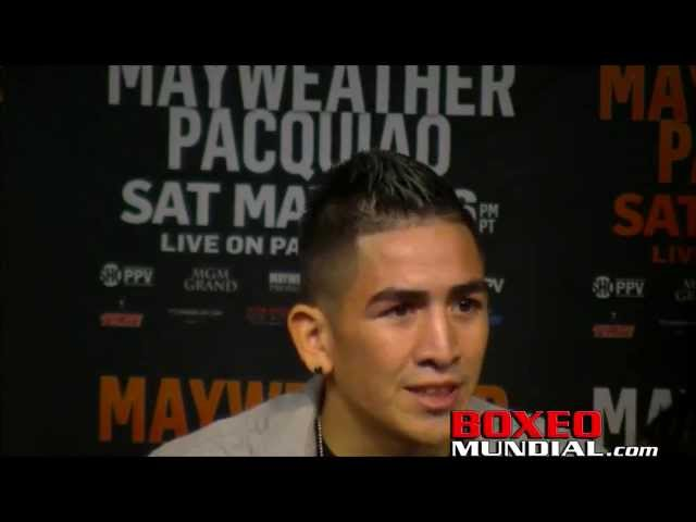 Mayweather vs Pacquiao Pay-Per View Undercard fighters final presser