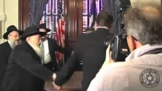 Rick Perry Dances Round Table w/Criminal Gangster jews