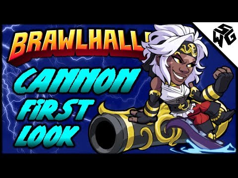 CANNON and SIDRA First Look! - Brawlhalla Gameplay