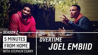 Joel Embiid and Stephen Curry Draft Their All-Time NBA Teams | 5 Minutes from Home Overtime