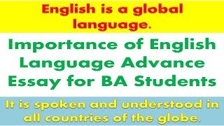 all clip of importance of english language essay  bhclipcom importance of english language advance essay for ba students