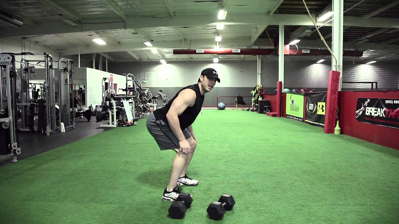 Workout 101 - Dumbbell Hang Clean into a Push Press ...