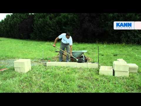 DIY - Aufbau Tutorial Der Gartenmauer Gomera
