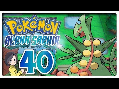 Let's Play PokÉmon Alpha Saphir Part 40: Mega-gewaldro Zeigt Sich! video