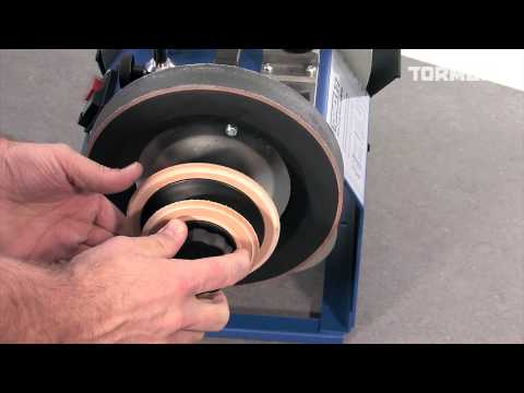 Tormek Profiled Leather Honing Wheel LA-120