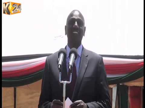 DP Ruto, Bomet Governor face-off during a fund raiser in Bomet County