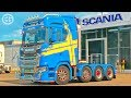 [ETS2 v1.30] New Scania 8x4 Chassis