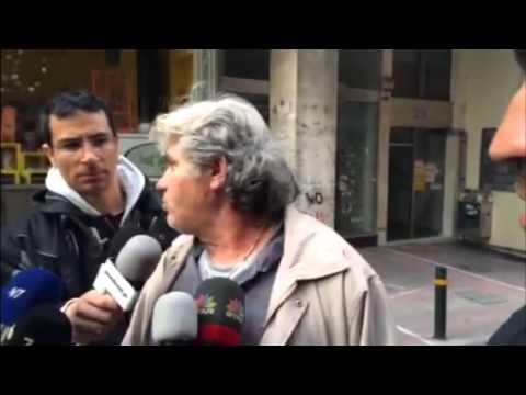 Car bomb detonated outside Bank of Greece in #Athens . Dama