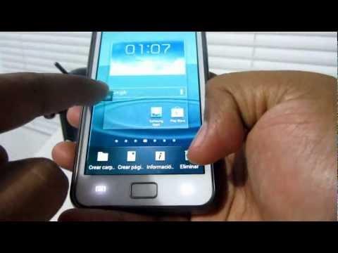 Nuevo TouchWiz 5.0 para Galaxy SII (Español Mx)