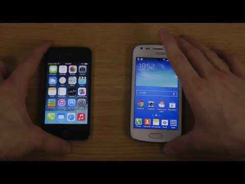 Samsung Galaxy Trend Plus vs. iPhone 4 iOS 7.0.4 - Which Is Faster?