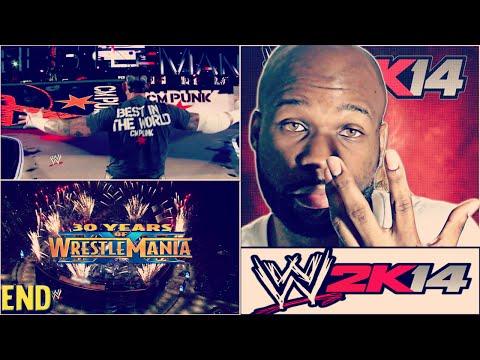 WWE 2K14 30 Years of Wrestlemania Ending - The Rock vs. John Cena