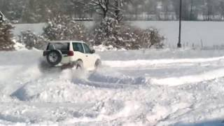 nissan terrano snow fun