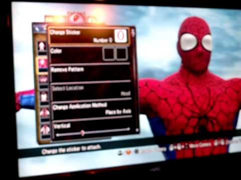 Soul Calibur V Create a Soul: Spider-Man Tutorial