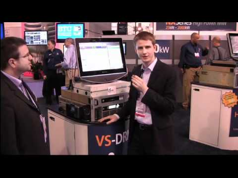 DRM+ demo utilizing the Nautel VS1 and VSHD digital box at NAB 2011