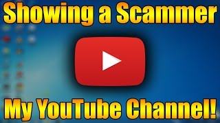 Scammer Reacts To My YouTube channel! | 10k Subscriber Special Part 1
