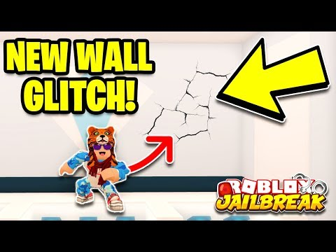 NEW JEWELRY STORE WALL NOCLIP! Roblox Jailbreak NEW GLITCH! (Sewer Escape Update)