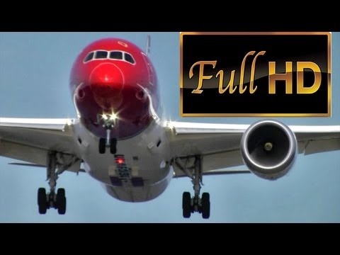 "Norwegian / Boeing 787 ""Dreamliner"" First Landing at Copenhagen Kastrup (HD1080p)"
