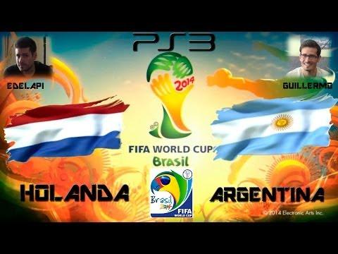 Mundial Brasil 2014 - HOLANDA VS ARGENTINA - PS3 - COPA MUNDIAL FIFA - GAMEPLAY - 2.0