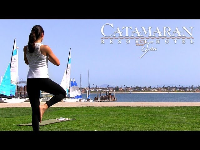 San Diego Fresh Air Yoga at the Catamaran Resort