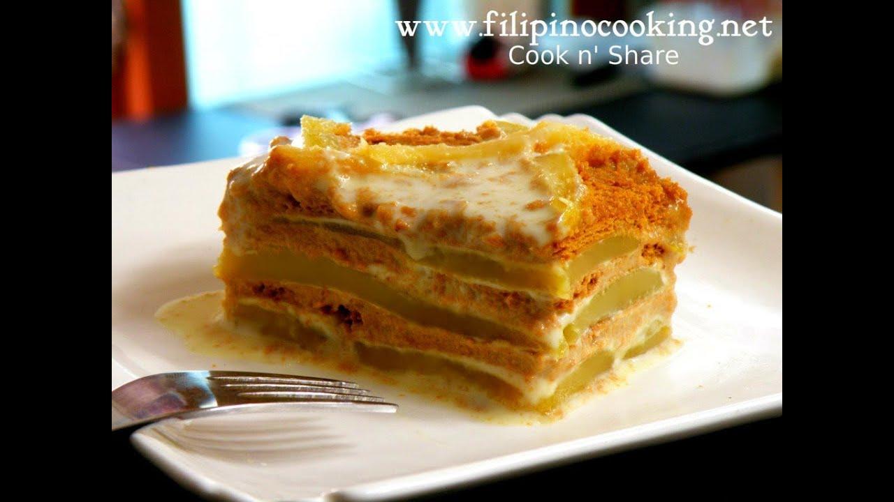 Best Refrigerator Cake Recipe