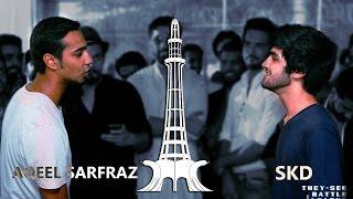 Aqeel Sarfraz vs Sunny Khan Durrani - They-See Battle League(Desi Rap Battle)