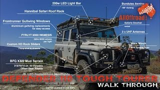 Land Rover Defender 110 | 4WD | The Ultimate OVERLANDER | Walk Through | ALLOFFROAD#108 [2017]